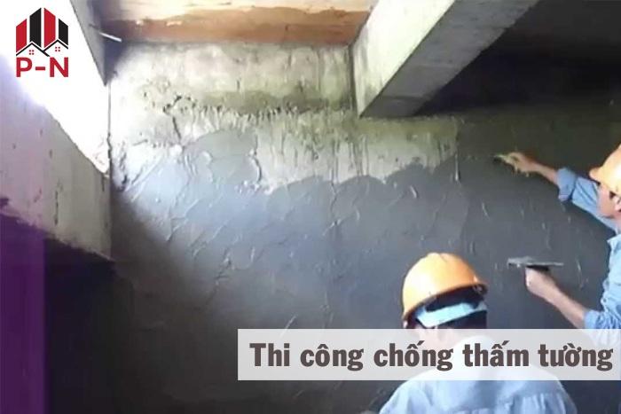 cách chống thầm tường nhà