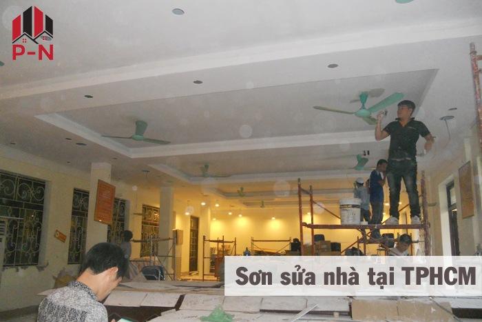 sơn sửa nhà tại tphcm