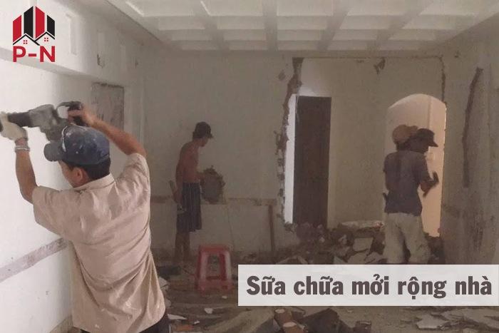 sửa chữa cơi nới nhà