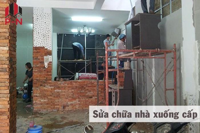Sửa chữa nhà xuống cấp
