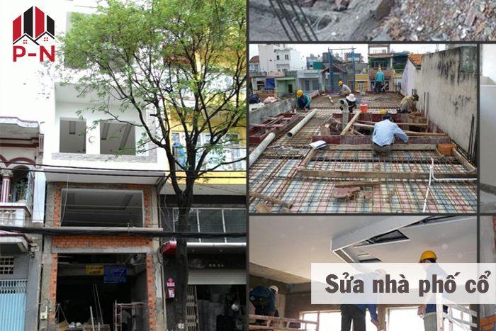 sửa chữa nhà phố cổ
